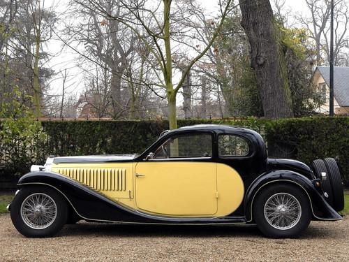 """Auktion von Coys of Kensington unter dem Motto """"True Greats"""": Bugatti Type 57 Series I Ventoux."""