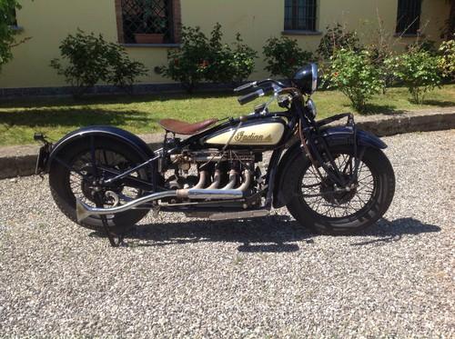 """Auktion von Coys of Kensington unter dem Motto """"True Greats"""": Indian Vierzylinder von 1931"""