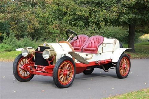 """Auktion von Coys of Kensington unter dem Motto """"True Greats"""": Lancia Tipo 58 von 1912."""