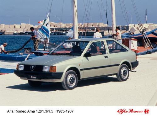 Die Tops und die Flops des Automobilgeschäfts: Alfa Arna von 1987.