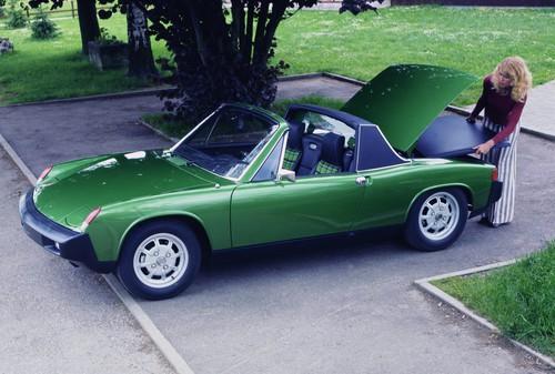 Die Tops und die Flops des Automobilgeschäfts: Porsche 914.