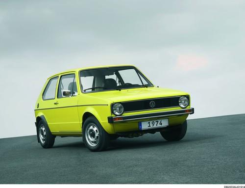 Die Tops und die Flops des Automobilgeschäfts: Volkswagen Golf von 1974.