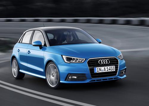 Pressepräsentation Audi A1: Ein ganzer Kerl