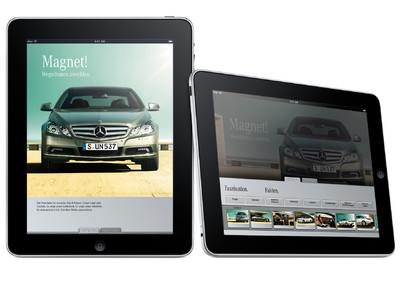 Mercedes benz bietet apps f r das ipad auto medienportal net for Benz sport katalog