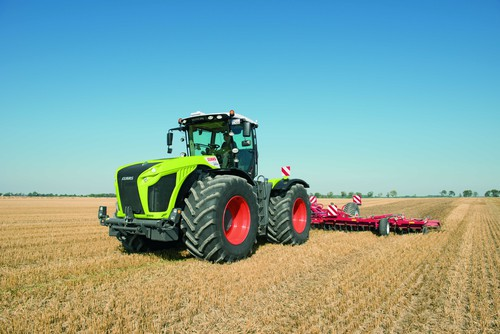 Claas Xerion 4000.