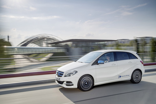 Mercedes-Benz B-Klasse Electric Drive.
