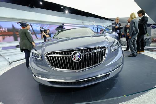 Buick Avenir Concept.