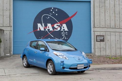 Nissan entwickelt gemeinsam mit der NASA autonome Fahrsysteme.
