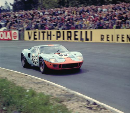 Ford GT40, Nürburgring, 1968.