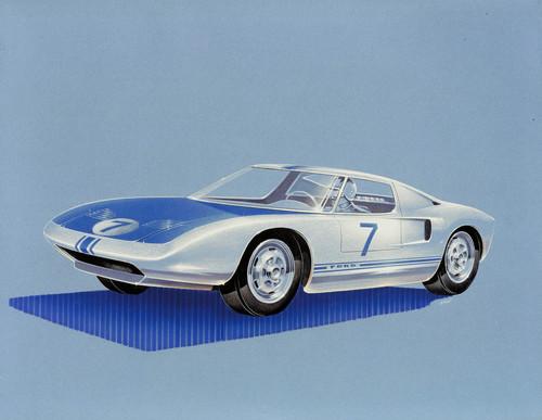 Ford GT; Studie von 1963.