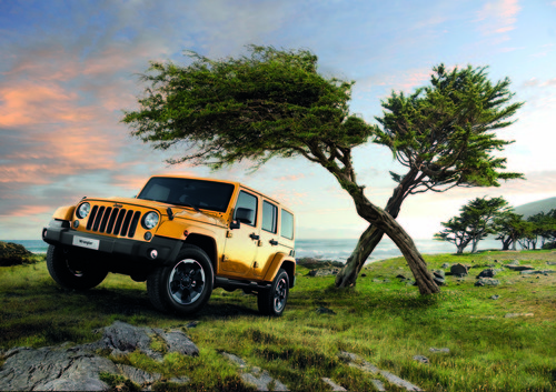 Jeep Wrangler Unlimited X.