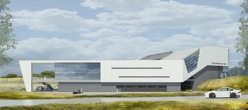 Geplante US-Zentrale von Porsche in Atlanta.