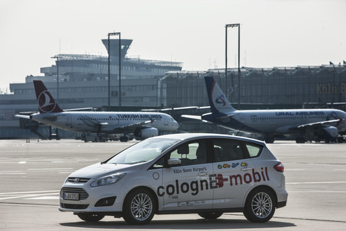 "Modellprojekt ""ColognE-mobil"": Ford C-Max Energi."