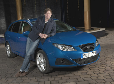 photo of David Kross Seat Ibiza - car