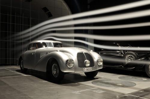 Mercedes-Benz Classic: Mercedes-Benz 540 K Stromlinienwagen (W 29), 1938. Als Einzelstück gefertigt in der Abteilung Sonderwagenbau im Mercedes-Benz Werk Sindelfingen.