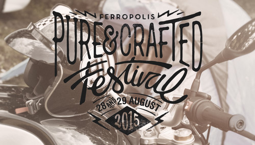 """Pure & Crafted""-Festival."
