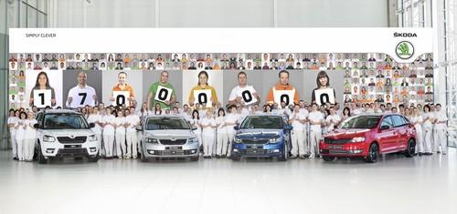 Skoda produziert 17-millionstes Fahrzeug.