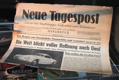 VW Museum: 60 Jahre Karmann Ghia