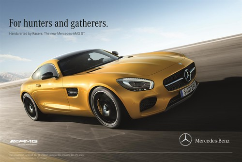 "Mercedes-AMG ""Mercedes-AMG GT - Handcrafted by Racers""."