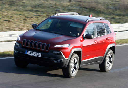 Jeep Cherokee Trailhawk.