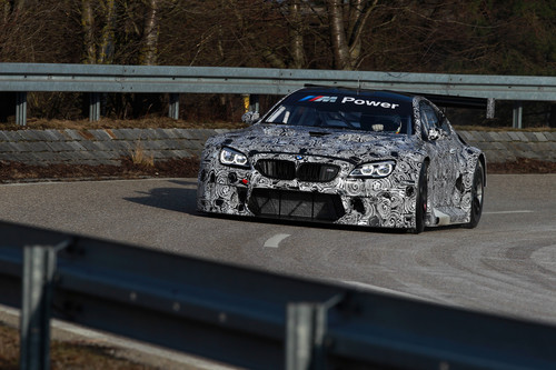 Roll-out des BMW M6 GT3 in Dingolfing.