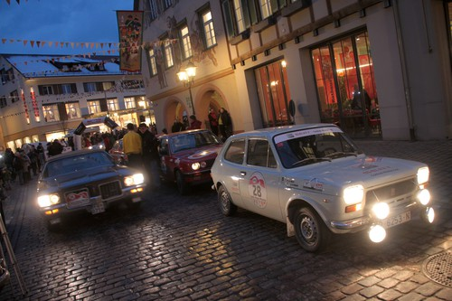 AvD-Histo-Monte: Seat 127 Rallye (1973) in Haslach.