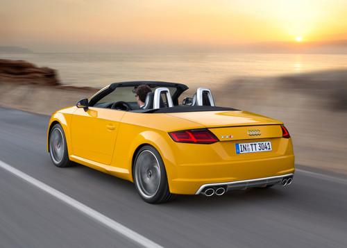 Zum Artikel Fahrbericht Audi TTS Roadster: Freizeitsportler