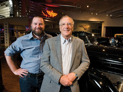 Chris (links) und Paul Andrews.