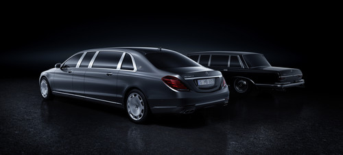 Mercedes-Maybach Pullman.