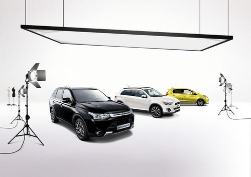 Klassik Kollektion von Mitsubishi für die Modellreihen Space Star, ASX und Outlander.