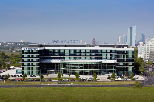 Hyundai-Zentrale in Offenbach.
