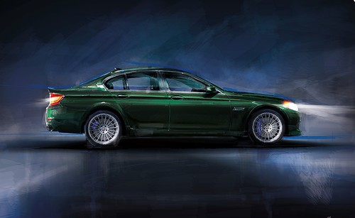 Alpina B5 Bi-Turbo Limousine Edition 50.