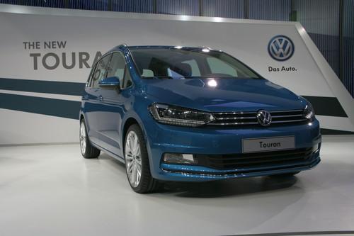 Präsentation des Volkswagen Touran.