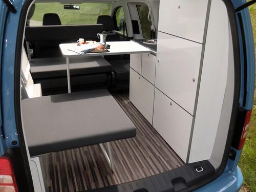 VW Caddy Camp Maxi von Reimo.