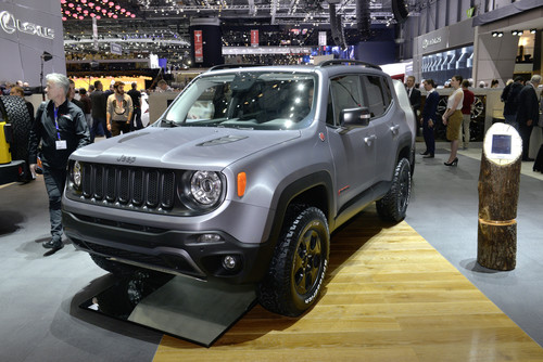 Jeep Renegade Concept Car Hard Steel.