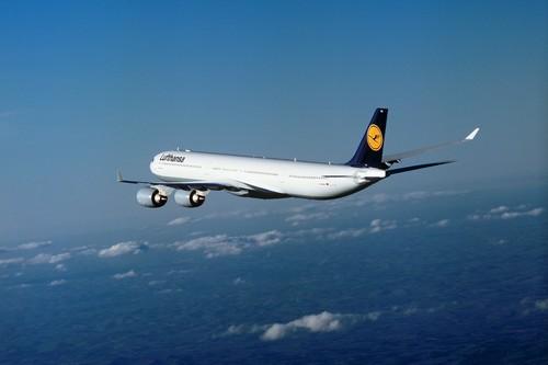 Airbus A340 der Lufthansa.
