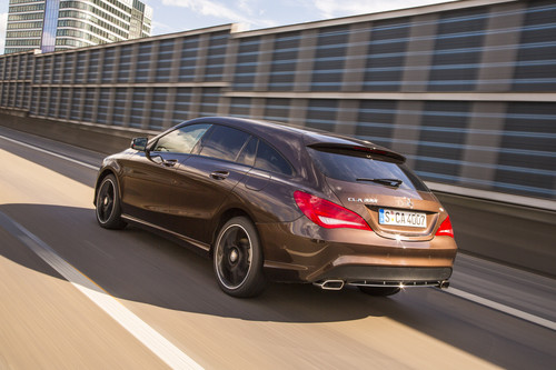 Mercedes-Benz CLA 200 CDI Shooting Brake.