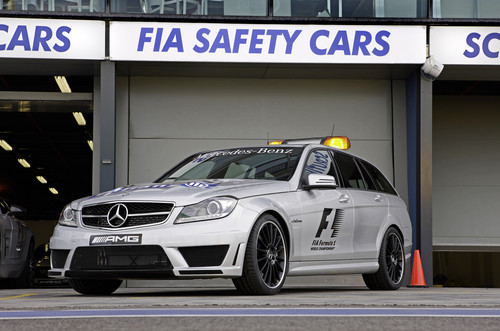 Mercedes-AMG C 63 S als Formel-1-Medical Car.