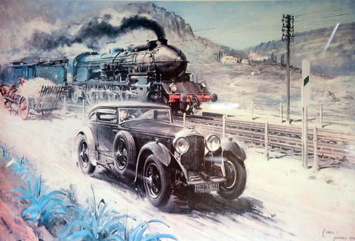 Blue Train-Race.