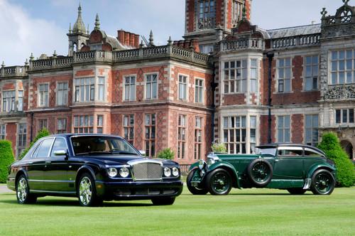 Bentley Arnage und Bentley Speed Six.