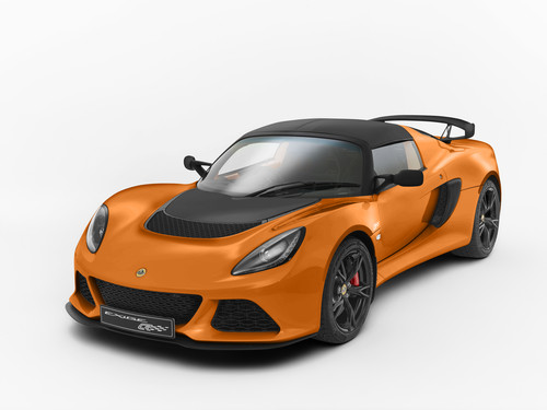 Lotus Exige S Club Racer.