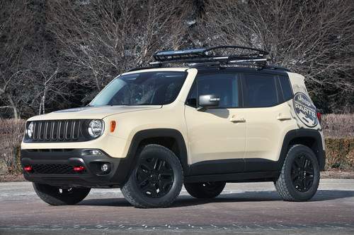 Jeep Renegade Desert Hawk.