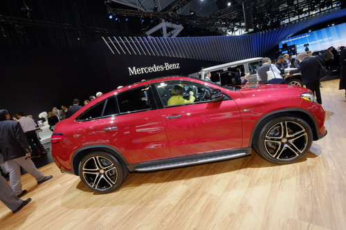 Mercedes-Benz GLE Coupé 450 AMG.