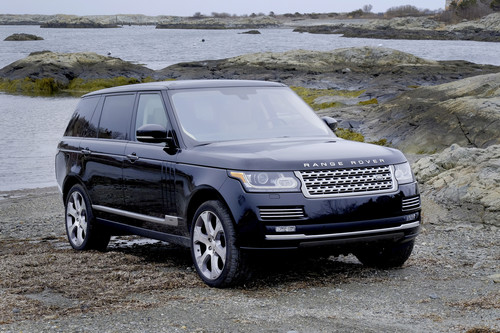 Range Rover Autobiography in New England.