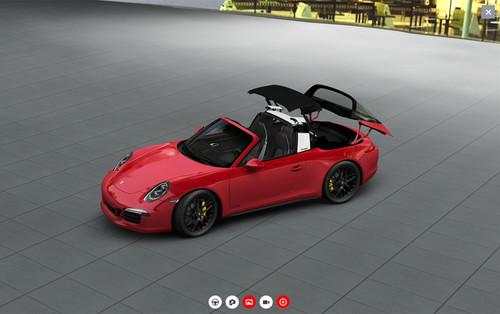 Porsche Car-Konfigurator.