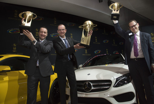 Drei Mal World Car-Awards für Mercedes-Benz.