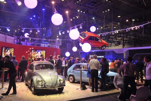 Techno Classica 2015: Stand der Autostadt.