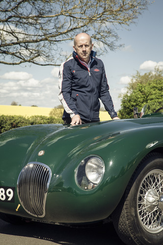 Jaguar bei der Mille Miglia 2015: Mike Cross, Chief Engineer Vehicle Integrity: