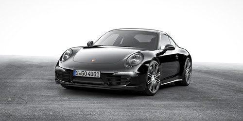 Porsche 911 Carrera Black Edition.