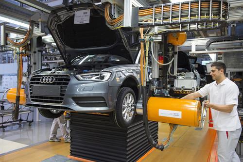 Produktion bei Audi.